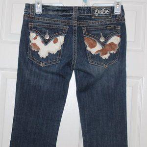 Miss Me Cowhide Pocket Jeans 29